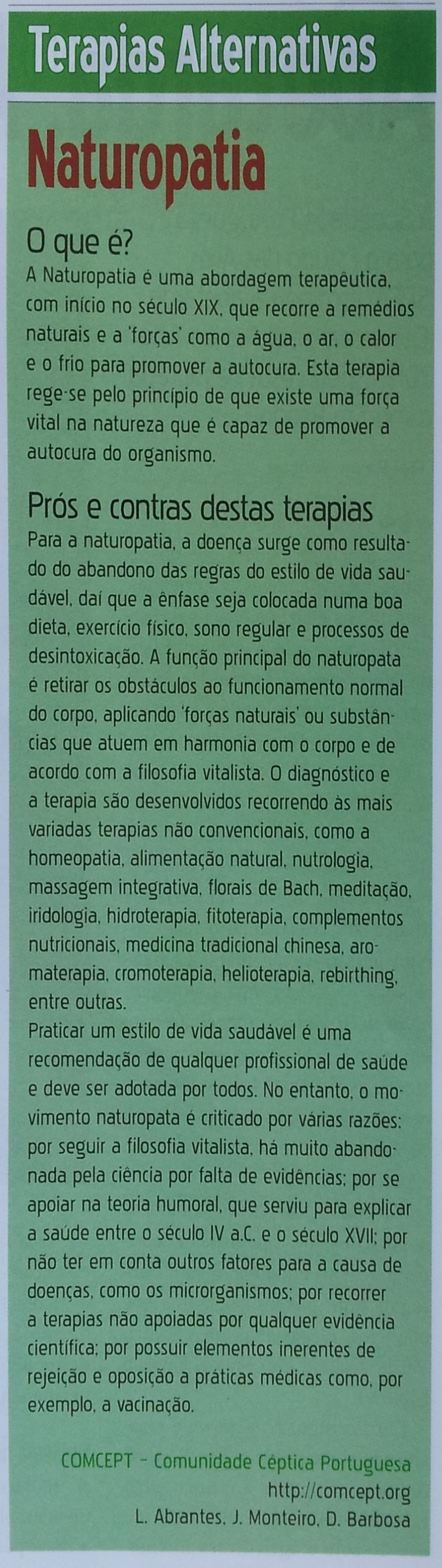 Naturopatia - Algarve Vivo