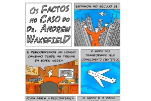 Os factos no caso do Dr Andrew Wakefield