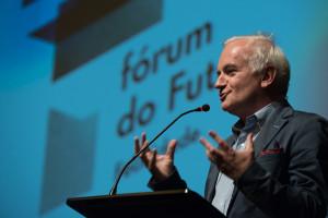Paulo Cunha e Silva no encerramento do Fórum do Futuro deste ano (Crédito: José Caldeira / Câmara Municipal do Porto)