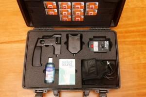 """Kit de Deteção """"ADE-651"""" - Fonte: brochura do equipamento"""