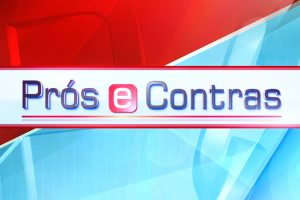 Imagem de promoção do Prós e Contras, da RTP1